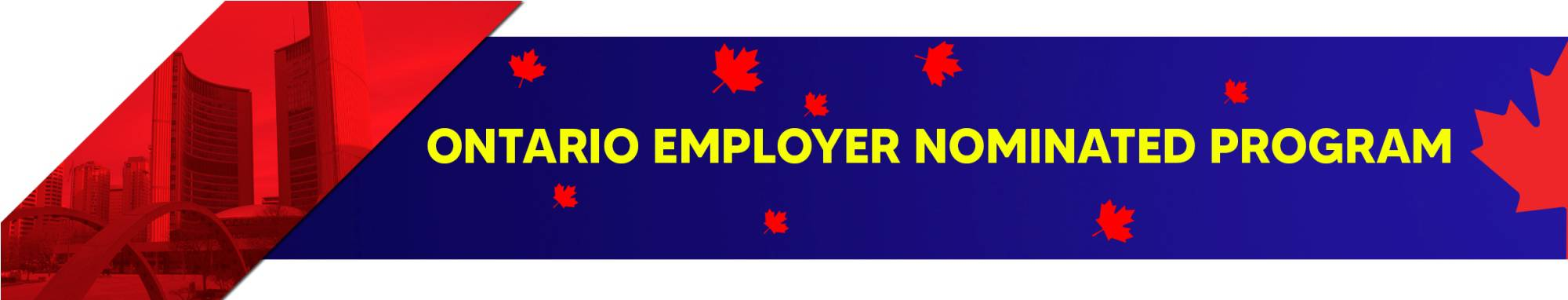 Ontario immigration program