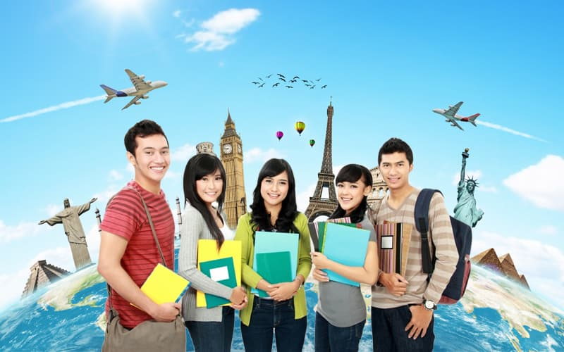 Study abroad student visa