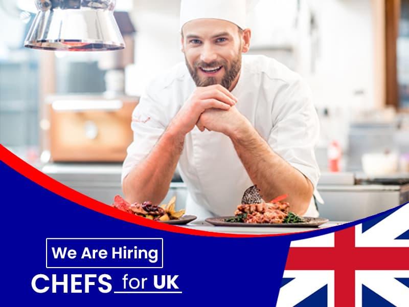 Cook, Chef Jobs/work permit in UK